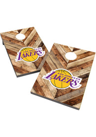Los Angeles Lakers 2X3 Cornhole Bag Toss Tailgate Game