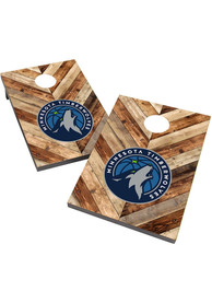 Minnesota Timberwolves 2X3 Cornhole Bag Toss Tailgate Game