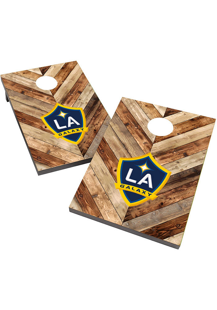 LA Galaxy 2X3 Cornhole Bag Toss Tailgate Game - Image 1