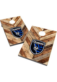 San Jose Earthquakes 2X3 Cornhole Bag Toss Tailgate Game