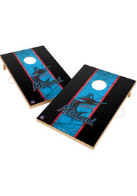 Miami Marlins Vintage 2x3 Cornhole Tailgate Game