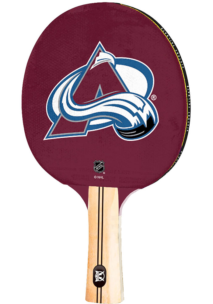 Colorado Avalanche Paddle Table Tennis - Image 1