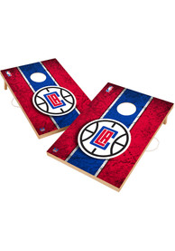 Los Angeles Clippers Vintage 2x3 Cornhole Tailgate Game