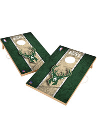 Milwaukee Bucks Vintage 2x3 Cornhole Tailgate Game
