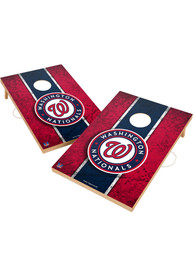 Washington Nationals Vintage 2x3 Cornhole Tailgate Game