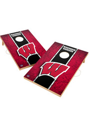 Wisconsin Badgers Vintage 2x3 Cornhole Tailgate Game