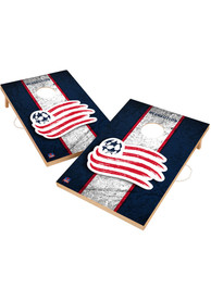 New England Revolution Vintage 2x3 Cornhole Tailgate Game