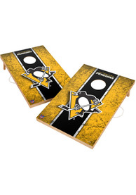 Pittsburgh Penguins Vintage 2x3 Cornhole Tailgate Game