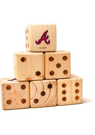 Atlanta Braves Yard Dice Tailgate Game