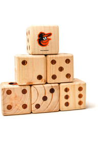 Baltimore Orioles Yard Dice Tailgate Game