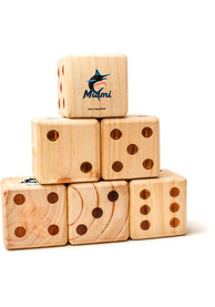 Miami Marlins Yard Dice Tailgate Game