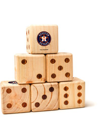 Houston Astros Yard Dice Tailgate Game