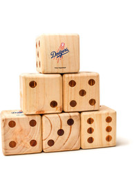 Los Angeles Dodgers Yard Dice Tailgate Game