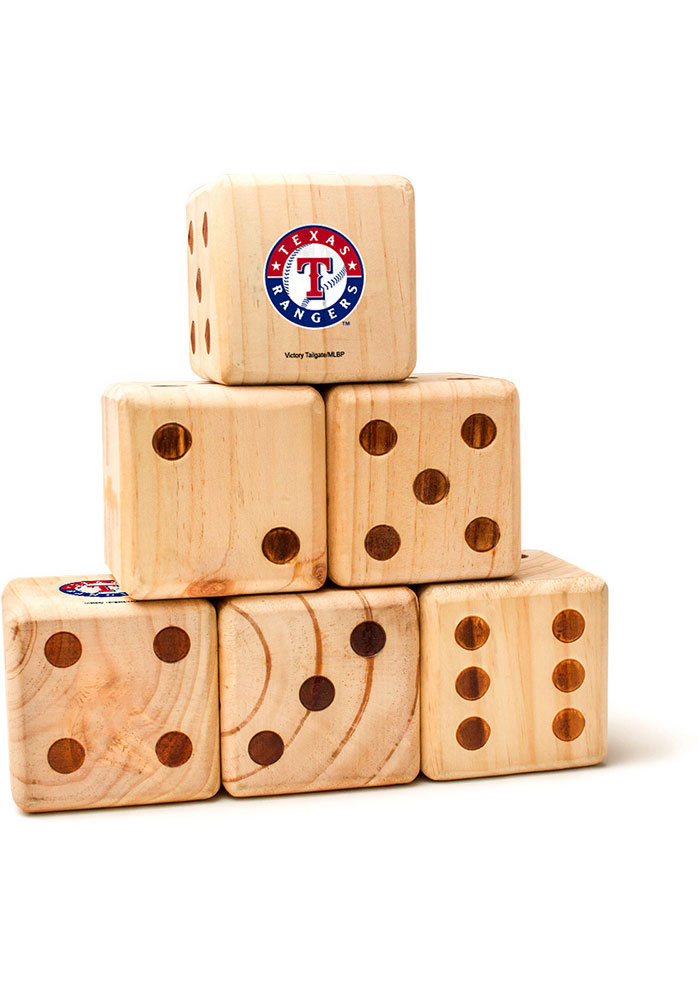 Texas Rangers Yard Dice Tailgate Game - Image 1