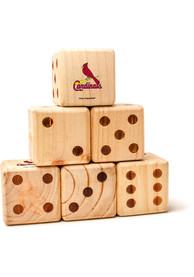 St Louis Cardinals Yard Dice Tailgate Game
