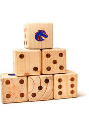 Boise State Broncos Yard Dice Tailgate Game