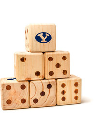 BYU Cougars Yard Dice Tailgate Game