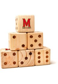 Maryland Terrapins Yard Dice Tailgate Game