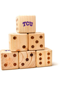 TCU Horned Frogs Yard Dice Tailgate Game
