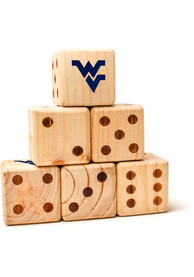 West Virginia Mountaineers Yard Dice Tailgate Game