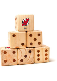 New Jersey Devils Yard Dice Tailgate Game