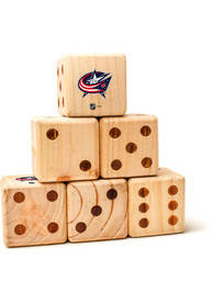 Columbus Blue Jackets Yard Dice Tailgate Game