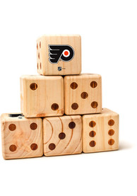 Philadelphia Flyers Yard Dice Tailgate Game