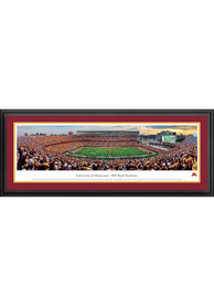 Minnesota Golden Gophers Football Panorama Deluxe Framed Posters