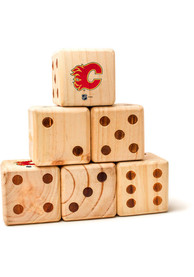 Calgary Flames Yard Dice Tailgate Game