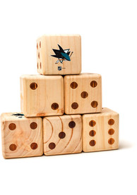 San Jose Sharks Yard Dice Tailgate Game