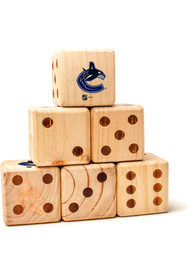 Vancouver Canucks Yard Dice Tailgate Game