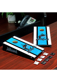 Miami Marlins Desktop Cornhole Desk Accessory