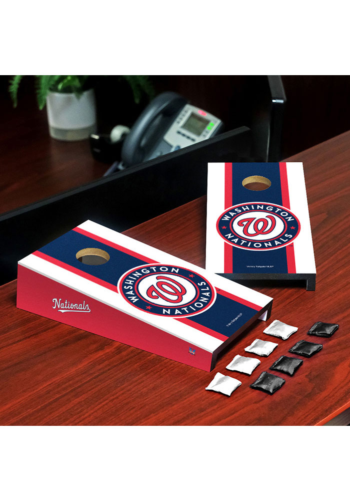 Washington Nationals Desktop Cornhole Desk Accessory - Image 1