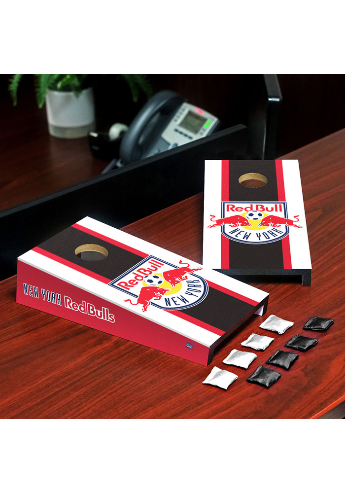 New York Red Bulls Desktop Cornhole Desk Accessory