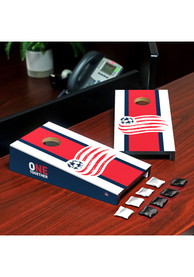 New England Revolution Desktop Cornhole Desk Accessory