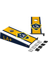 LA Galaxy Desktop Cornhole Desk Accessory