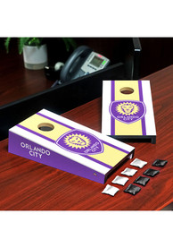 Orlando City SC Desktop Cornhole Desk Accessory