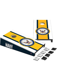 Navy Desktop Cornhole Desk Accessory