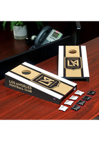 Los Angeles FC Desktop Cornhole Desk Accessory