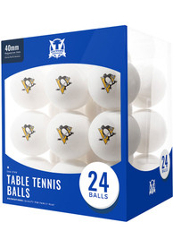 Pittsburgh Penguins 24 Count Balls Table Tennis