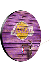 Los Angeles Lakers Hook and Ring Tailgate Game
