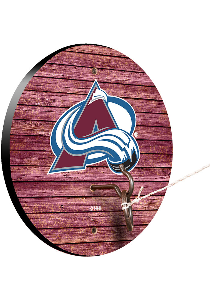 Colorado Avalanche Hook and Ring Tailgate Game - Image 1