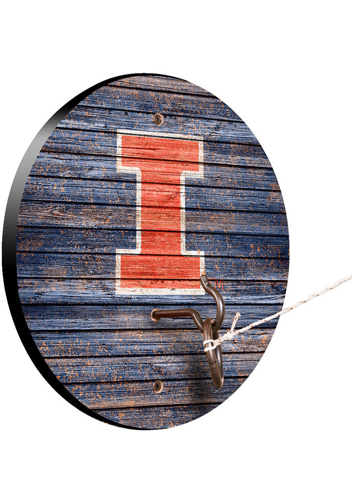 Illinois Fighting Illini Hook and Ring Tailgate Game - Image 1