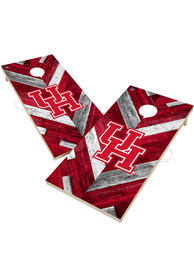 Houston Cougars 2x4 Cornhole Set Tailgate Game