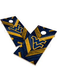 West Virginia Mountaineers 2x4 Cornhole Set Tailgate Game
