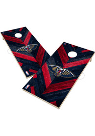 New Orleans Pelicans 2x4 Cornhole Set Tailgate Game