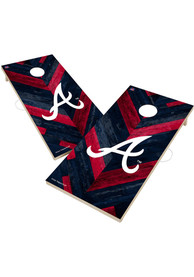 Atlanta Braves 2x4 Cornhole Set Tailgate Game