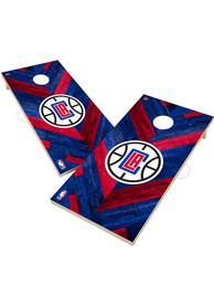 Los Angeles Clippers 2x4 Cornhole Set Tailgate Game