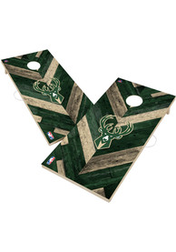 Milwaukee Bucks 2x4 Cornhole Set Tailgate Game