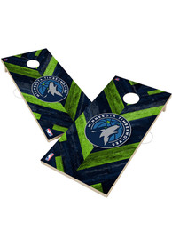 Minnesota Timberwolves 2x4 Cornhole Set Tailgate Game